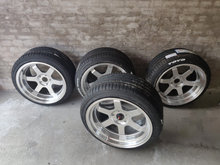 4 JR12 5x114.4 18x10 Toyo Proxes Ceramic