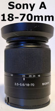 Sony DT 18-70mm F3.5-5.6 til Sony A